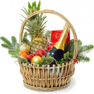 Large Christmas basket