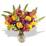 Snapdragon bright bouquet