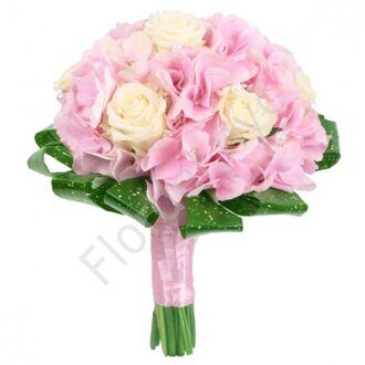 Pinkish bridal bouquet
