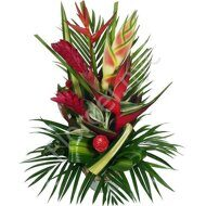 Large heliconia bouquet