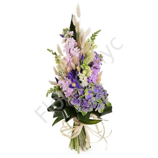 Elegant bouquet with stock flower