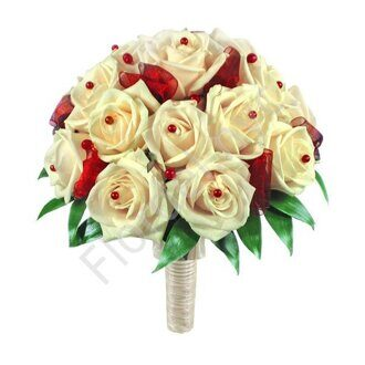 White-red bouquet
