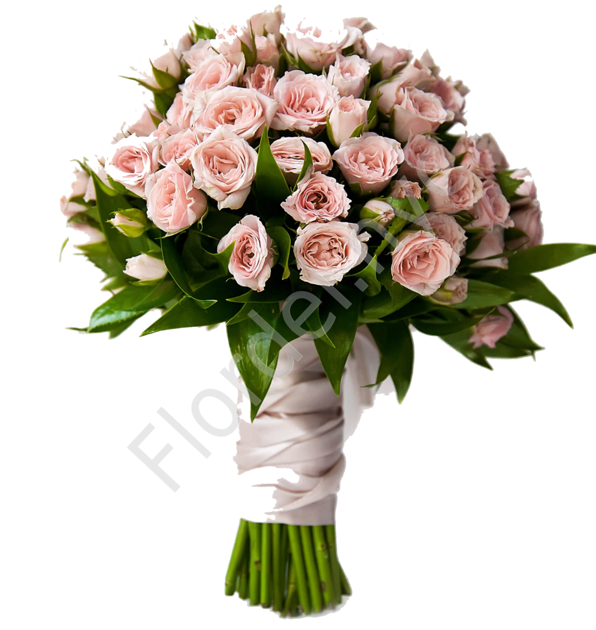 Deluxe package - Spray rose bouquet