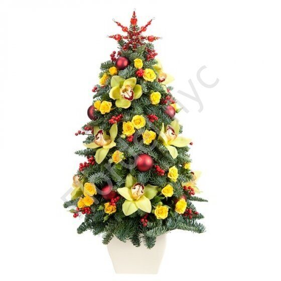 Flower Christmas tree
