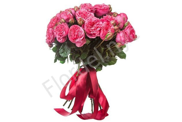 Piano rose bouquet