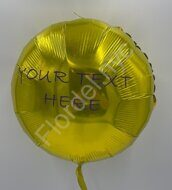 Customized  circle-shaped balloon