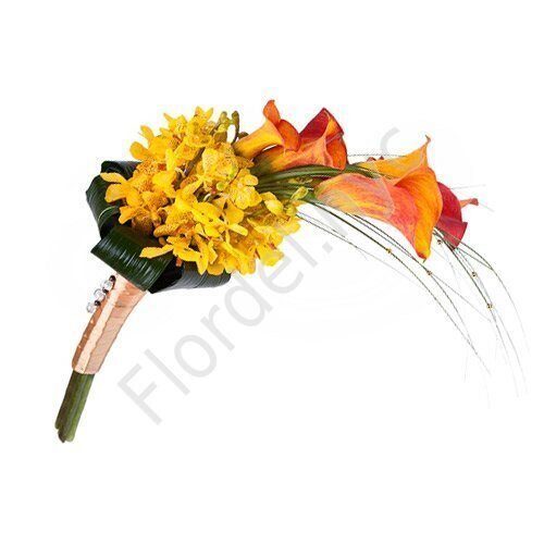 Intimate package - Bright impression bouquet