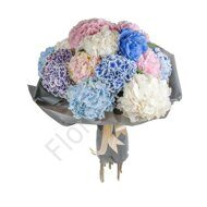 Assorted hydrangea bouquet
