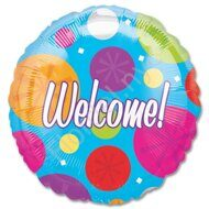 Welcome balloon