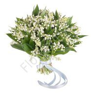 Lily of the valley spring bouquet