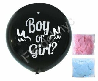 Gender reveal balloon JUMBO