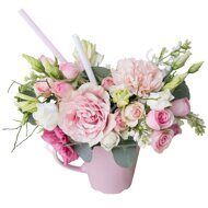 Pinkish centerpiece