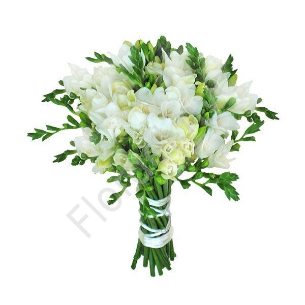 Premium package - Freesia bridal bouquet