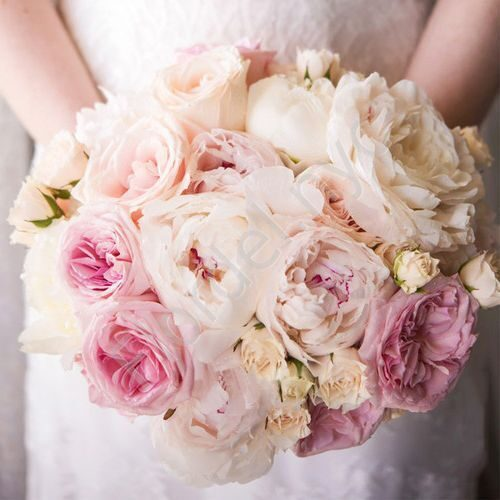 Premium package - Tender bridal bouquet