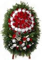 Large standing wreath