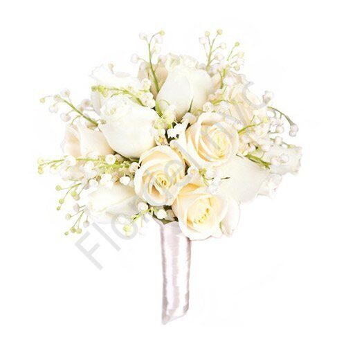 Large package - Lily of valley with roses