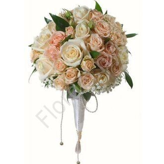 Classical wedding bouquet