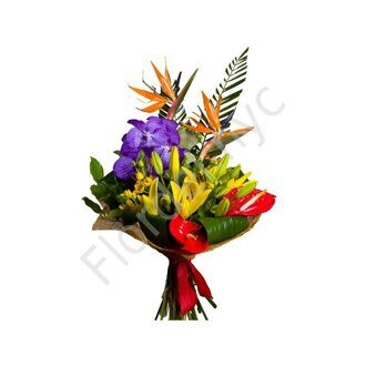 Bird of paradise bright bouquet