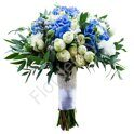 Large package - Bridal bouquet with hydrangea