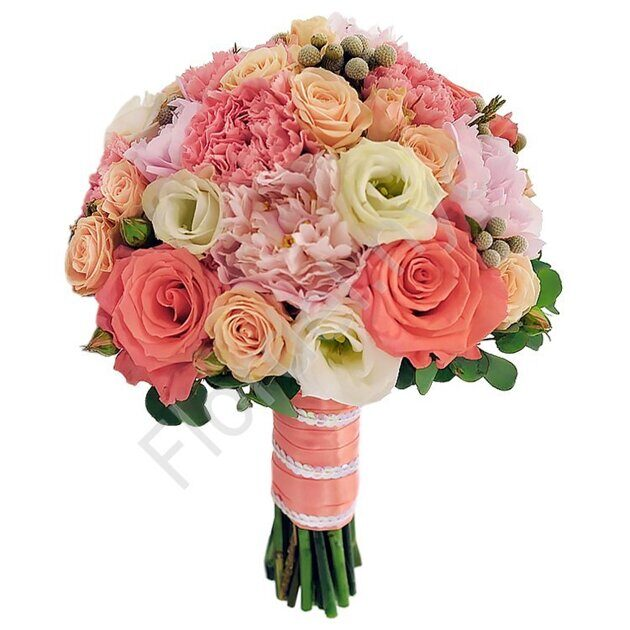 Deluxe package - Roses with carnations