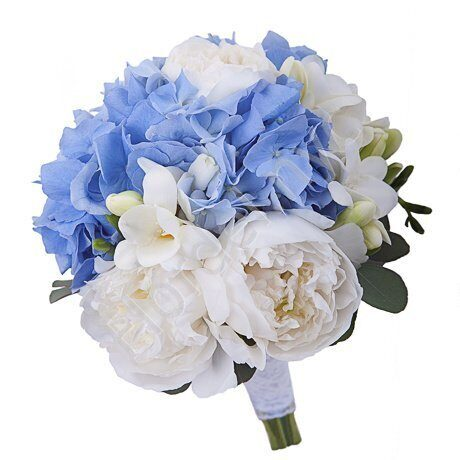 Medium package - Hydrangea and peonies