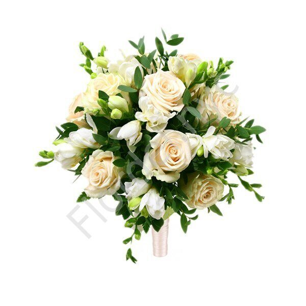 Basic package - Freesia and roses