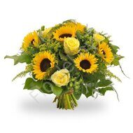 Sunflower yellow bouquet