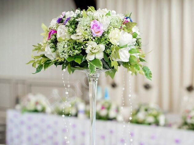Greenish centerpiece