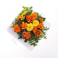 Marigold fall bouquet