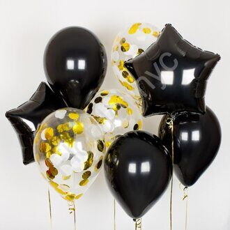 Star night balloon set