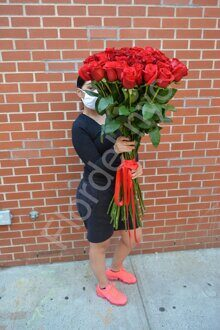 Extra long roses
