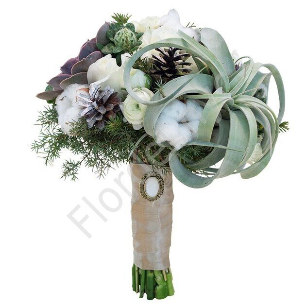 Medium package - Winter wedding bouquet