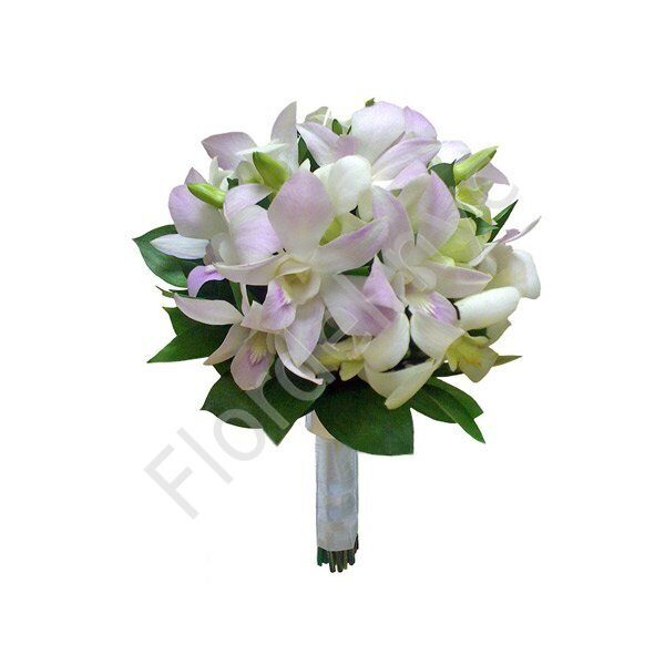 Premium package - Dendrobium bridal bouquet