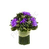 Purple preserved bouquet