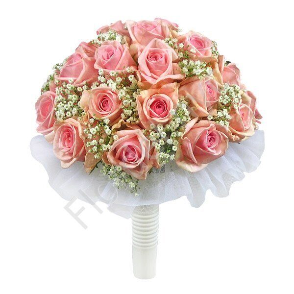Large package - Pink rose bouquet