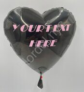 Customized heart shaped balloon