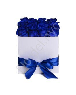 Large blue roses box