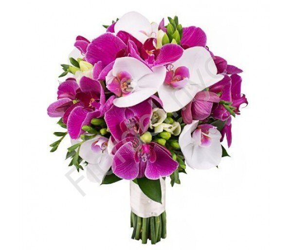 Medium package - Phalaenopsis bridal bouquet